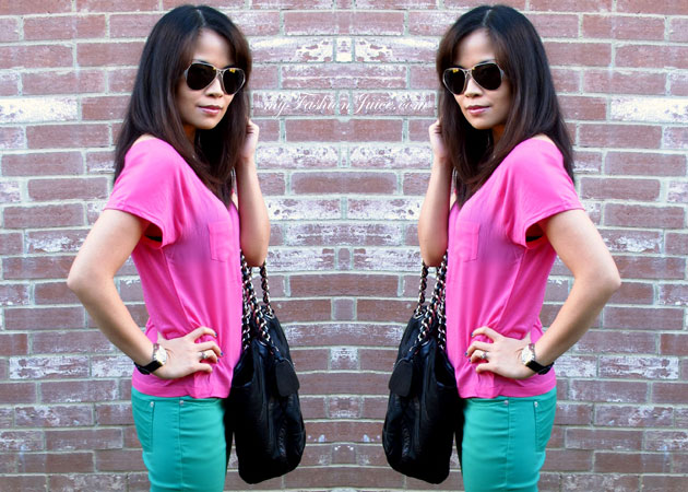 Bday Colorblocking Outfit {Weekly Wear} Bday Outfit + Bday Gift Reveal