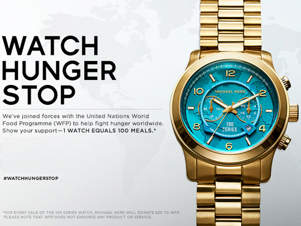 c0e5c29bb88c Watch Hunger Stop with Michael Kors and United Nations World Food ...