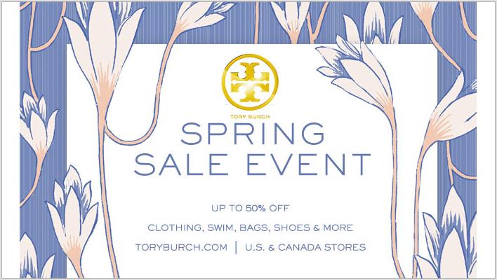 d7249058e60e Tory Burch Spring Sale Event