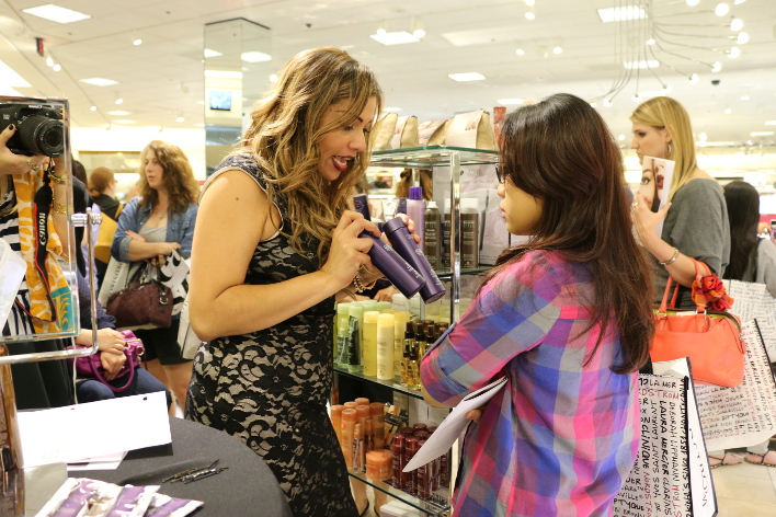 Nordstrom Fall 2013 Beauty Trend Show, Galleria Dallas, Texas
