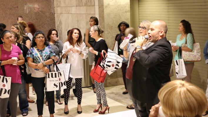 Nordstrom Fall 2013 Beauty Trend Show, Galleria Dallas, Texas