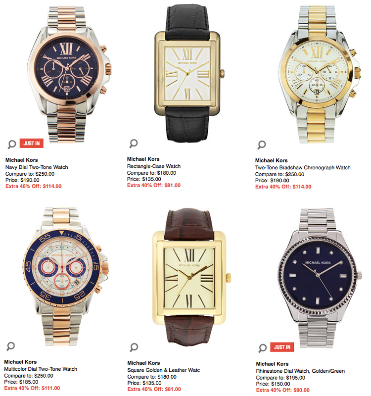 Sale Of Watches