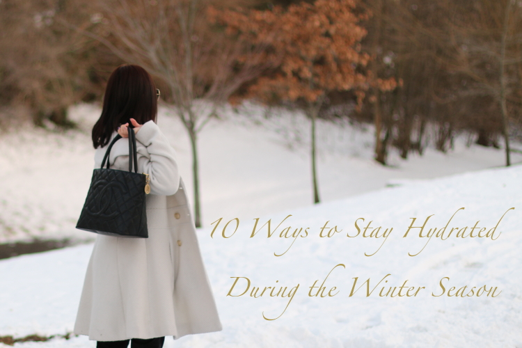 10 Ways to Stay Hydrated during winter season, moisturize, hydration, winter storms, polar vortex