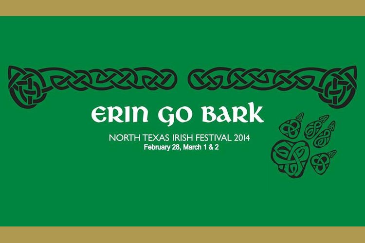 Erin go bark, north texas, irish festival
