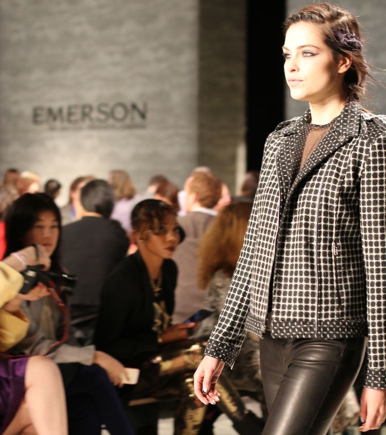 New York Fashion Week, #NYFW, Emerson by JFS, Mercedes Benz Fashion Week, #MBFW, Fall Winter 2014 collection, fashion show, new york, event