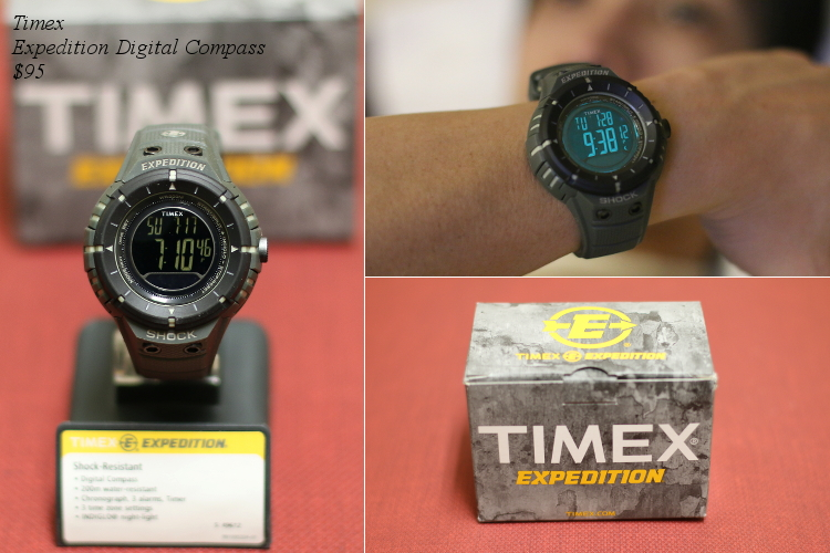 Valentines Day Gift Ideas for Him, Timex, watch, expedition, digital watch, compass