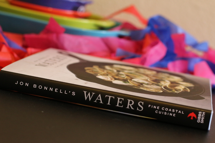 Waters Fine Coastal Cuisine, cookbook, seafood, recipe