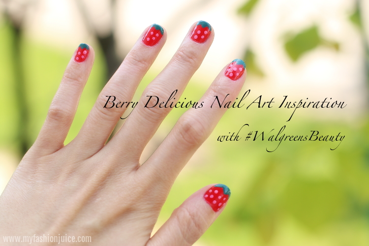 Berry Delicious Nail Color With Walgreensbeauty My Fashion Juice