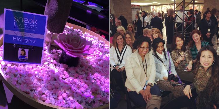 Sneak Peek, Dallas Market Center, Dallas bloggers, events, fashion show, style