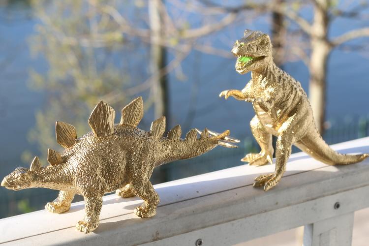 Diy Gold Dinosaur Jewelry Holder My Fashion Juice