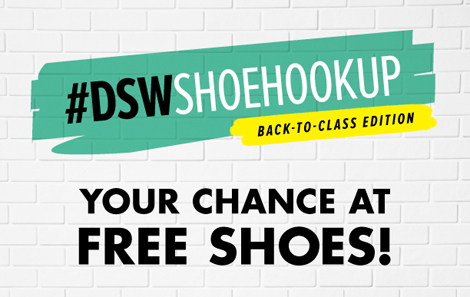 DSW Shoe Hookup Back to Class, shoes, contest