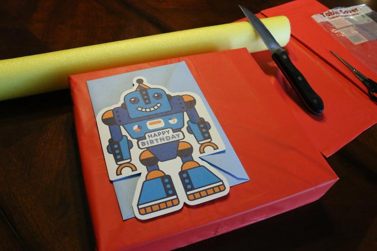 Hallmark ValueCards lego giftwrap robot card shop diy4 DIY Gift Wrap and Creative Card Ideas with Hallmark