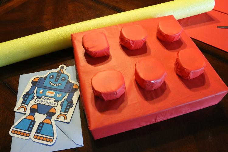 Hallmark ValueCards lego giftwrap robot card shop diy8 DIY Gift Wrap and Creative Card Ideas with Hallmark