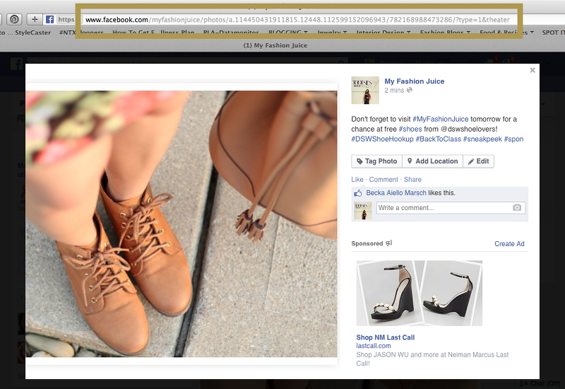 #DSWShoeHookup, #backtoclass, contest, facebook