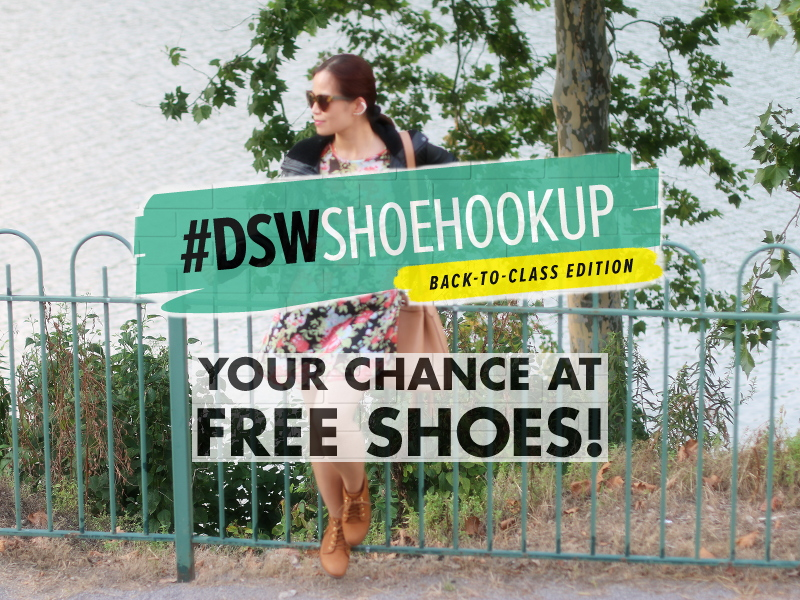 #DSWShoeHookup, #backtoclass, style, outfit, ootd, contest, shoes, steve madden, rubin bootie, back to school look