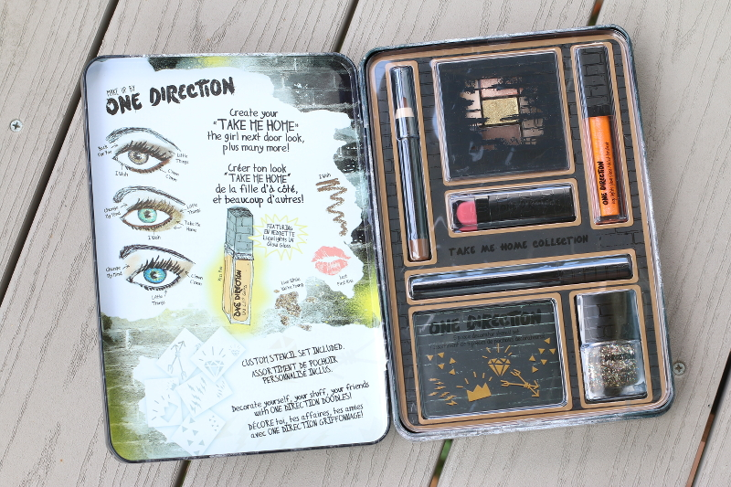 Makeup by One Direction, 1D, makeup, beauty, giveaway, cosmetics