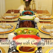 Friendsgiving, Thanks Giving, Dinner, CW Color by CorningWare, serve ware, dishes, dish ware, entertaining, food, home, party, holidays, giveaway