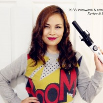 Kiss Instawave Automatic Curler review, demo, hair, beauty, hair tool