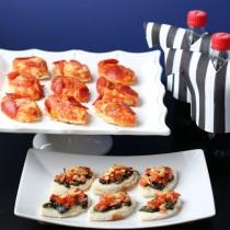 DiGiorno, pepperoni stuffed crust pizza, #PrepareToParty, #PreGiorno, #shop, #cbias, Collective Bias, food, sports theme party, ritz, coke