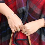 Old Navy Poncho, Barse Jewelry, Apple watch